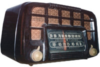 Old radio, blasting Leonidas Witherall