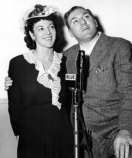 Paula Winslowe and William Bendix
