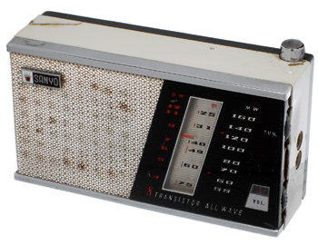 Sanyo 1973 Radio