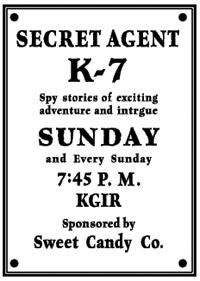 Secret Agent K7