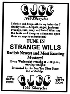 Strange Wills