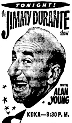Tonight The Jimmy Durante Show with Alan Young