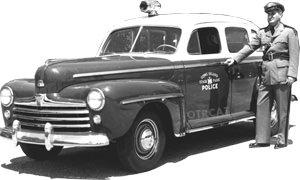 1947 Police Car