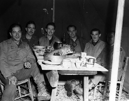 WWII Holiday Meal