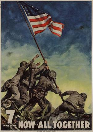 WWII Iwo Jima Flag