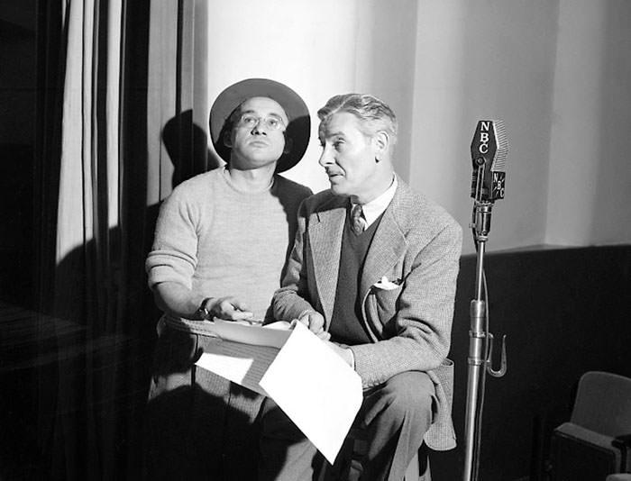 Arch Oboler & Ronald Colman
