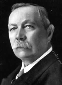 A.C. Doyle, author
