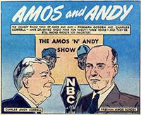 Amos and Andy Comic