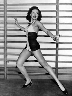 Ann Miller Dancing