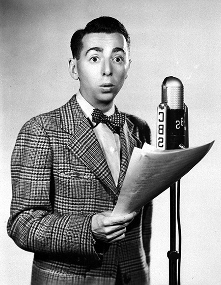 Arnold Stang on the Mic