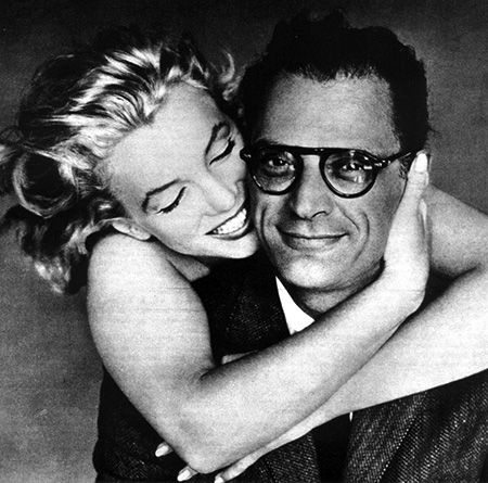 Arthur Miller and Marilyn Monroe