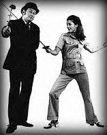 Sneeds: Donald Monat as John Steed & Diane Appleby as Emma Peel