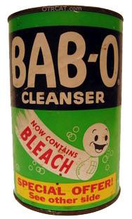 Bab-O Detergent