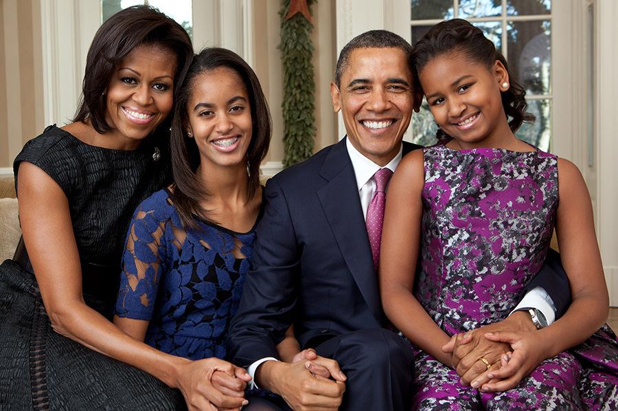 Barak Obama Family