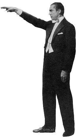 Bela Lugosi hypnotizing