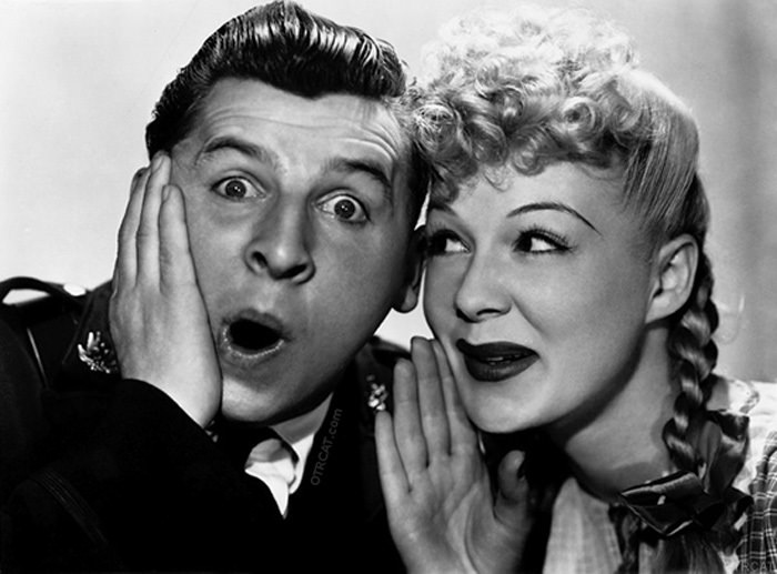 Betty Hutton & Eddie Bracken