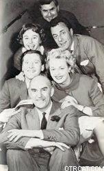 British radio cast