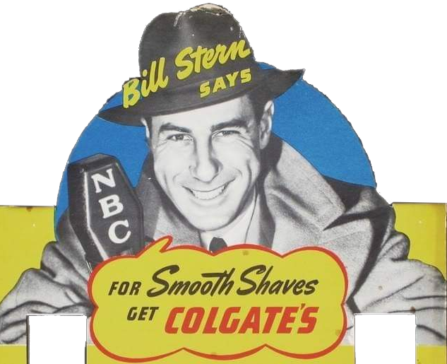 Bill Stern Colgate Advertisement