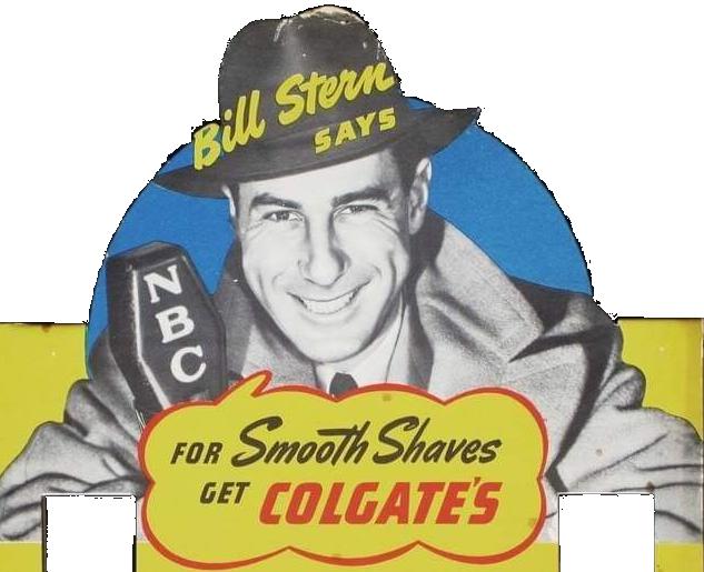 Bill Stern Colgate Advertisement