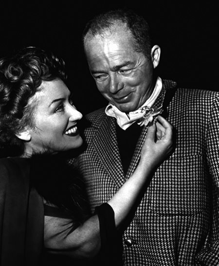 Billy Wilder and Gloria Swanson