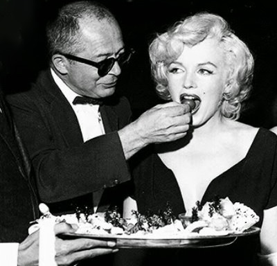 Marilyn Monroe and Billy Wilde