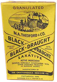 Black Draught Laxative