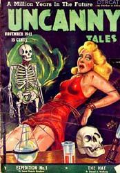 Uncanny frightning tales