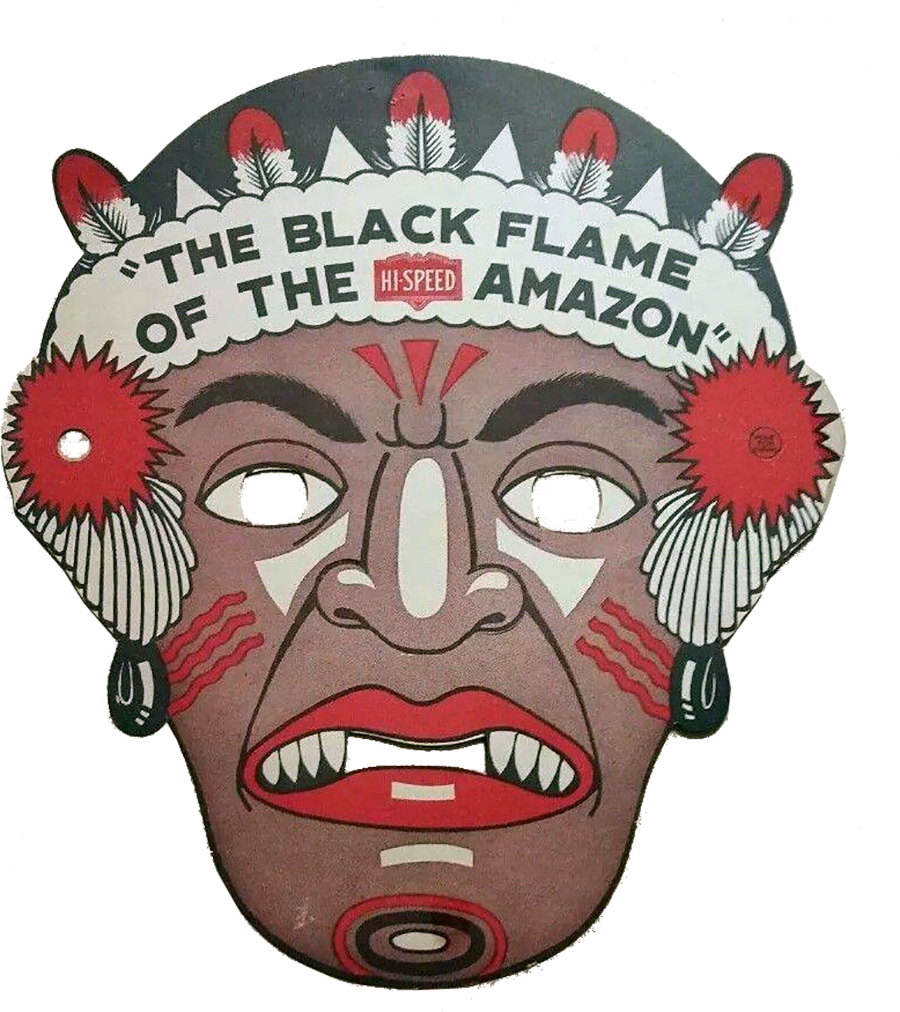 Black Flame of the Amazon Promo Mask
