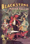 Blackstone the magician advertisement