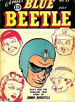 Blue Beetle Cover