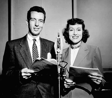 Bob Bailey and Virginia Gregg