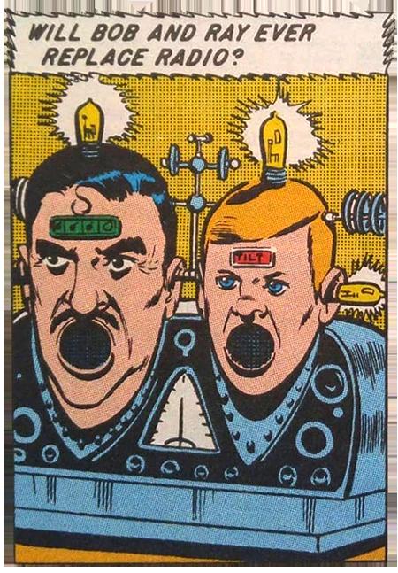Bob & Ray Comic