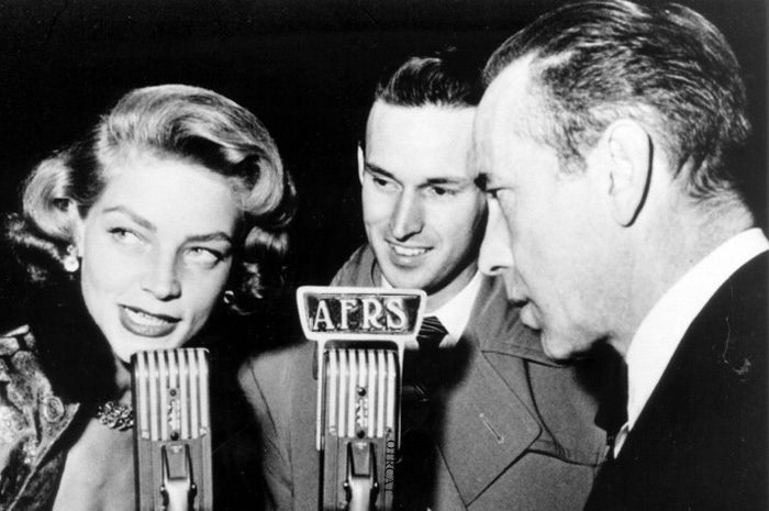 Bogart Bacall on the Radio