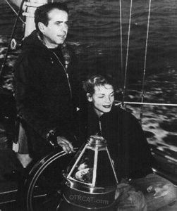 Bogart and Bacall sailing the seas.