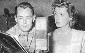 Alan Ladd on the microphone.
