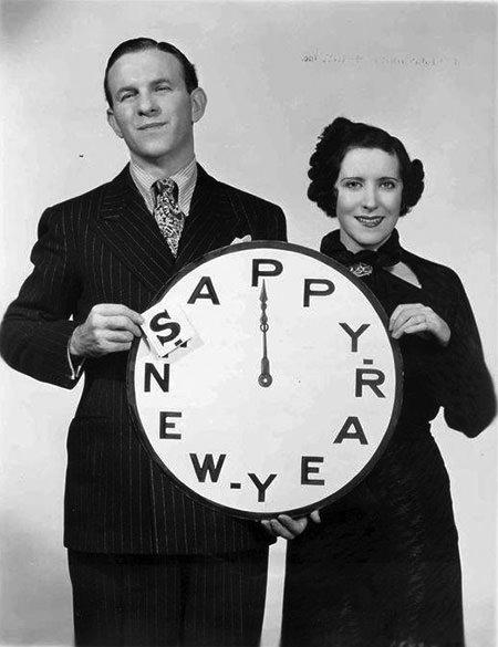 Burns and Allen New Years