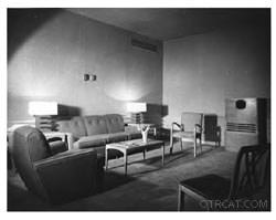Late 1940's, Early 50's Interior studio KGO-KPO in San Francisco
