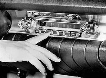 1940s Car Radio