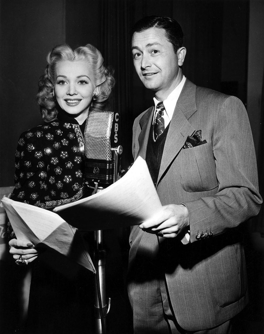 Carol Landis and Robert Young
