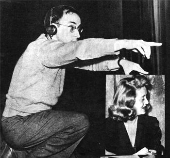 Arch Oboler, wrote and directed 'An American is Born' which starred Bette Davis