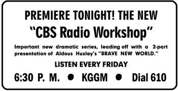 CBS Radio Workshop
