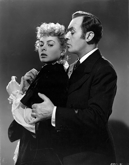 Ingrid Bergman and Charles Boyer
