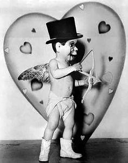 Charlie McCarthy as Cupid