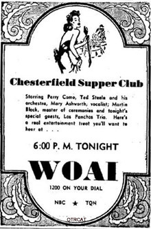 Chesterfiedl Supper Club