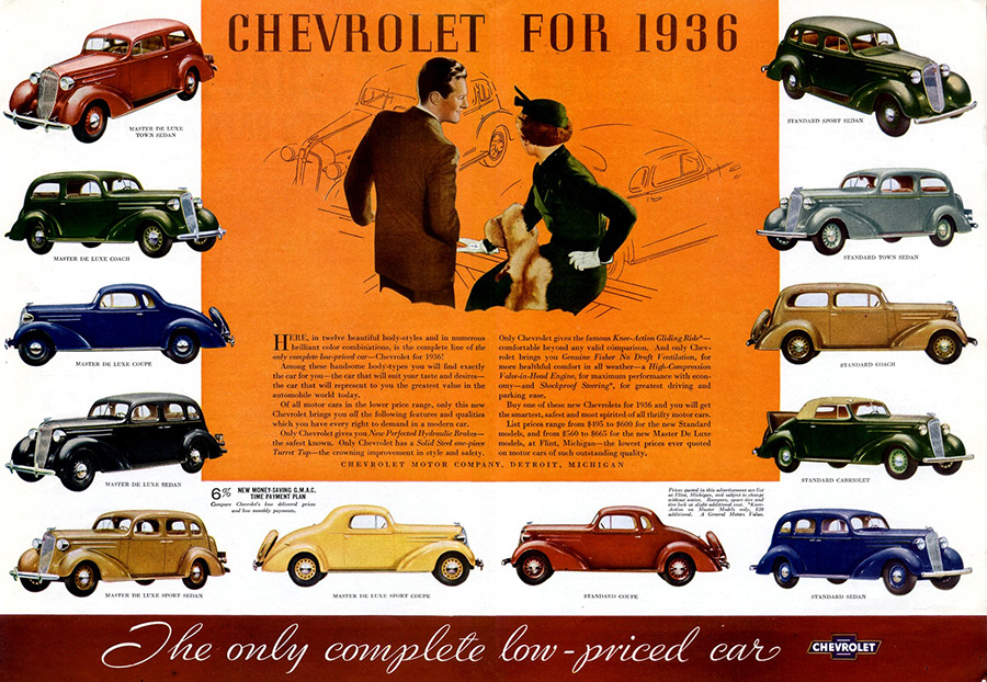 1936 Chevy Ad