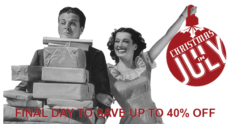Final Day to Save up to 40% off!