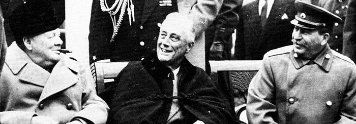 Churchill Roosevelt Stalin
