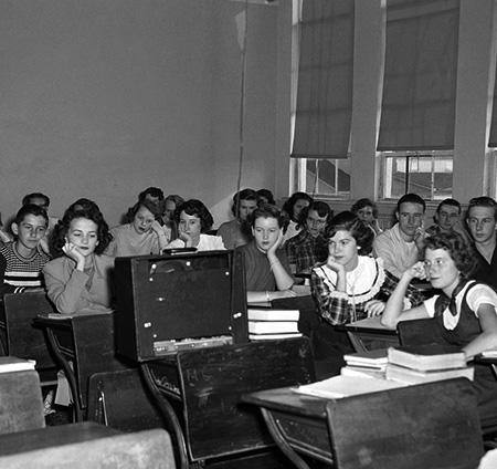 Classroom radio