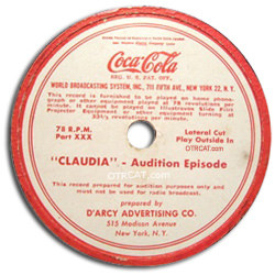 Claudia Transcription Disk