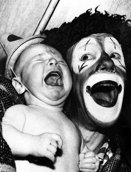 Clowns and Baby